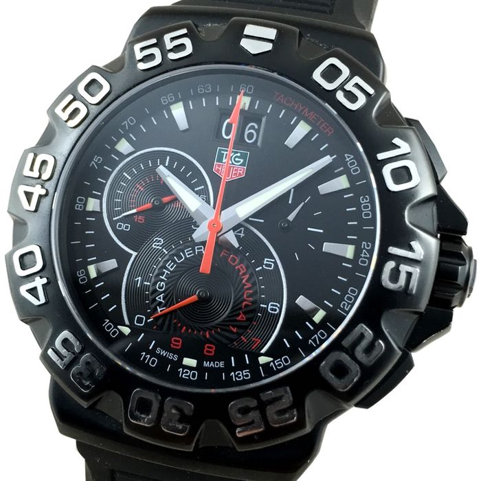 tag heuer formula 1 f1 chronographe r f cah1012 montre homme catawiki. Black Bedroom Furniture Sets. Home Design Ideas