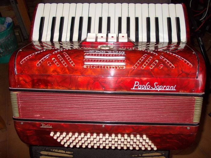 Accordeon, zelfspelend, Paolo soprani made in Italy