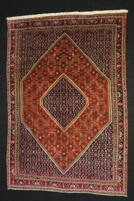 Marvellous BIDJAR Persian carpet, Iran, pre-1970.
