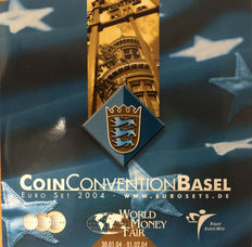 "The Netherlands – year pack/ year collection 2004 ""World Money Fair Basel"""