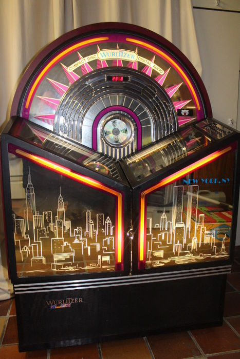 Wurlitzer New York 100 Cd Jukebox Last Quarter 20th