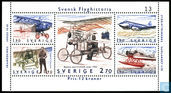 Postage Stamps - Sweden [SWE] - History of the Swedish Aviation