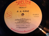 Disques vinyl et CD - Cale, J.J. - Really