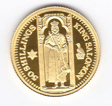 "Somalia – 50 shillings 2003 ""King Salomon"" gold"