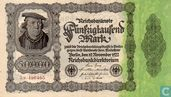 Reichsbanknote 50 000 Mark 1922 5M.490465