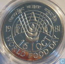 "Bhutan 50 ngultrums 1981 (PROOF) ""F.A.O. - World Food Day"""