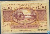 La Rochelle Chamber of Commerce 50 centimes