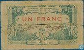 Valence Chamber of Commerce 1 franc