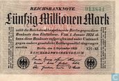 Reichsbanknote 50000000 Mark 1923