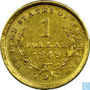 United States of America 1 dollar 1849 D