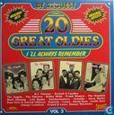 20 Great oldies I'll always remember VOL. 3