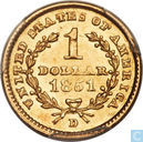 United States of America 1 dollar 1851 D