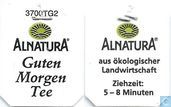 Tea bags and Tea labels - Alnatura -  5 Guten Morgen Tee