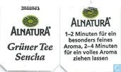 Tea bags and Tea labels - Alnatura -  9 Grüner Tee Sencha