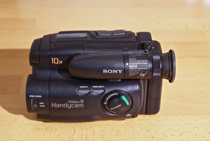 Sony Video 8 Handycam with many accessories - Catawiki