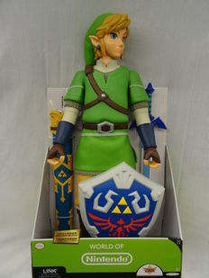 7b01a6b011d Zelda - Jakks Pacific - Figurine Zelda World of Nintendo - 20 Inch
