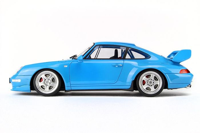 gt spirit scale 1 18 porsche 911 type 993 carrera rs clubsport 1995 riviera blue catawiki. Black Bedroom Furniture Sets. Home Design Ideas