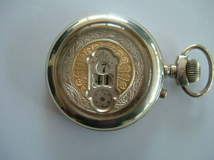 A & L SALTARELLO - POCKET WATCH - 1920s-1950s