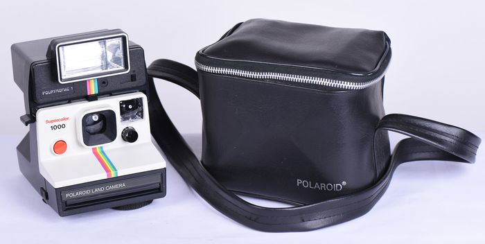 polaroid supercolor 1000 with flash catawiki. Black Bedroom Furniture Sets. Home Design Ideas