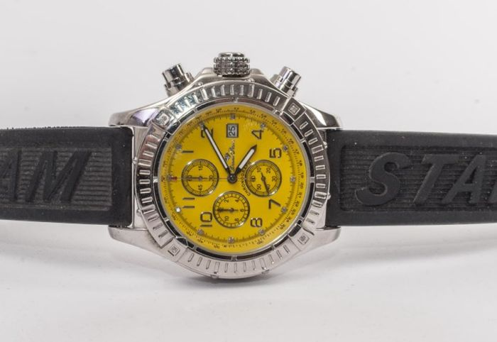 Diamstars Chronograph Limited Edition Yellow Diamond – Watch – Never worn