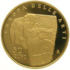 Italy - 50 Euros 2003 'Art in Europe' - gold