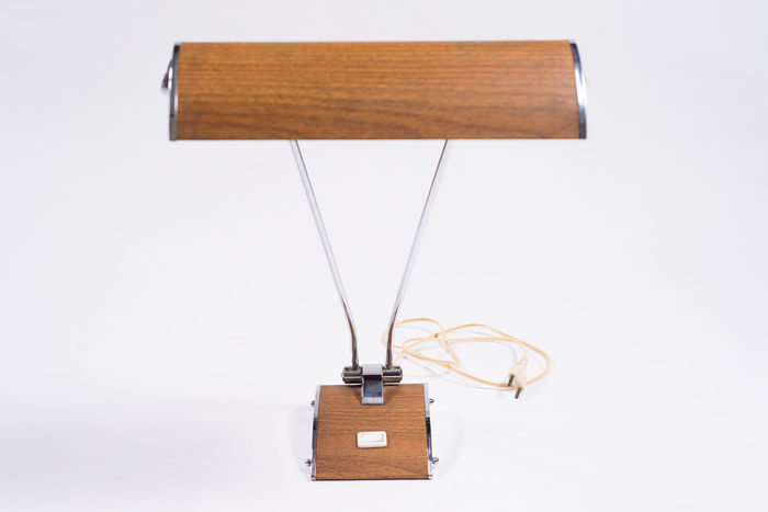 Eileen Gray For Jumo   Metal Desk Lamp