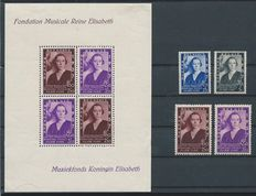 Belgium 1935/1941 – Collection of complete series between OBP 404 and 537B + OBP BL 7/8 and 13/14.