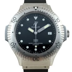 Hublot — Super Professional Diver Automatic Full Set Top  Condition — Hombre — 2011 - actualidad