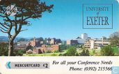 University of Exeter - Conference Needs 1