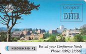 University of Exeter - Conference Needs 2
