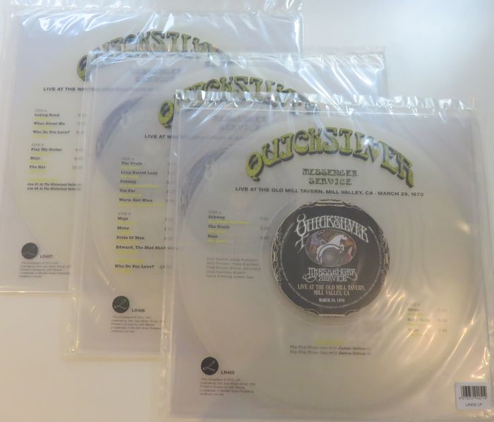 Quicksilver Messenger Service Great Lot Of 3 Live