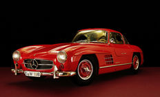 Premium ClassiXXs - Scale 1/12 - Mercedes-Benz 300SL Gullwing Red