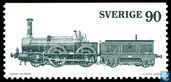 Postage Stamps - Sweden [SWE] - Steam locomotives