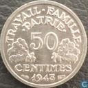 France 50 centimes 1943 (B)