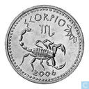 "Somaliland 10 shillings 2006 ""Scorpio the scorpion"""