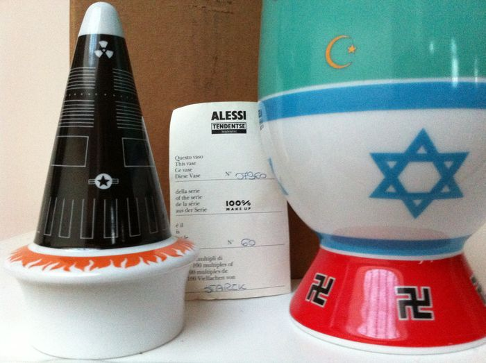 Alessandro Mendini And Philippe Starck For Alessi Tendentse 100