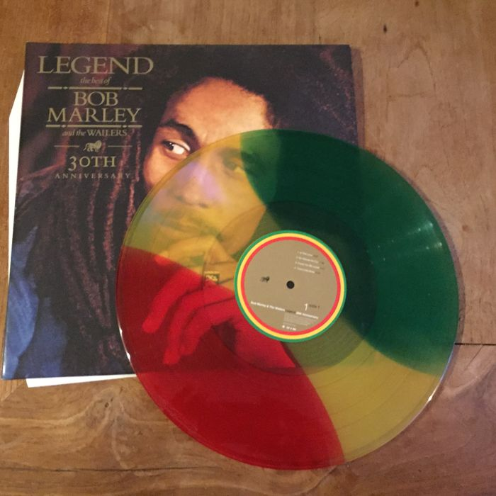 Bob marley the wailers 2 lp set tri color vinyl bob marley bob marley the wailers 2 lp set tri color vinyl bob marley legend the best of bob marley and the wailers 30th anniversary thecheapjerseys Gallery