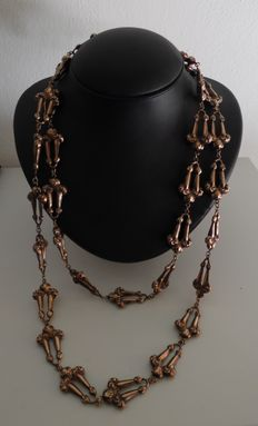 Bourbon necklace in 9 kt gold (replica)