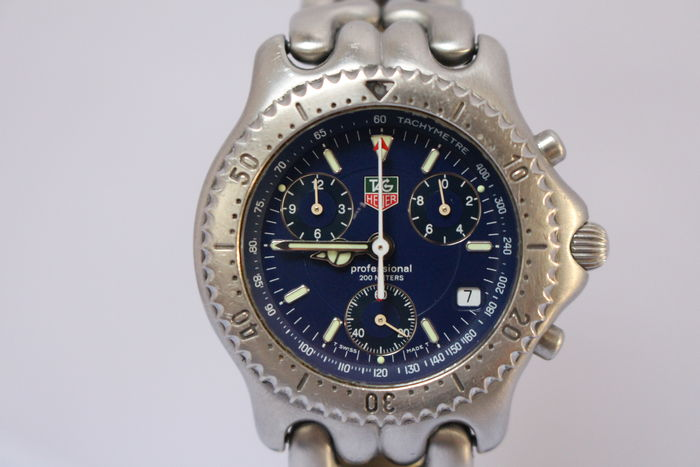 TAG Heuer professional Chronograph -- CG1114 -- model 1999