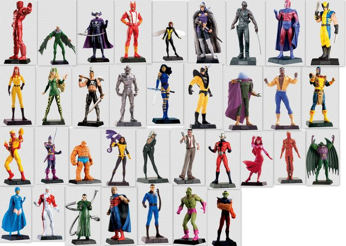 Marvel Eagle Moss Collection - 35 different characters ...