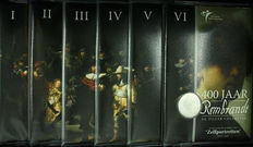 "The Netherlands - Promotional packs 2006 ""Rembrandt I to VI"" (6 different)"