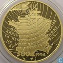 "Frankrijk 500 francs 1994 (PROOF) ""Appeal of 18 June 1940"""