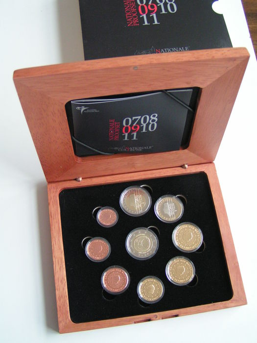 The Netherlands - Year pack Euro coins 2009 including 2 Euro 'EMU'