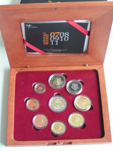 "The Netherlands – year pack/ year collection (Proof) 2007 including  2 Euro coin ""Treaty of Rome"""