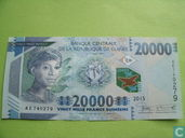 Guinea 20 000 Guinean francs