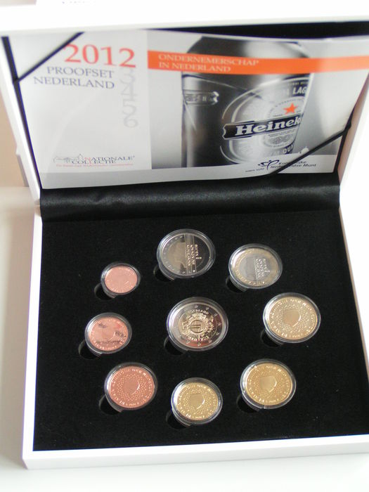 The Netherlands - Year pack 2012 incl. 2 euro 'Ten Years Euro'