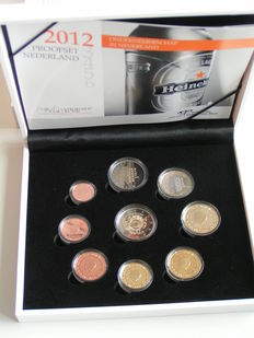 "The Netherlands – Year pack (Proof) 2012, including 2 Euro coin ""Ten Years of the Euro"""
