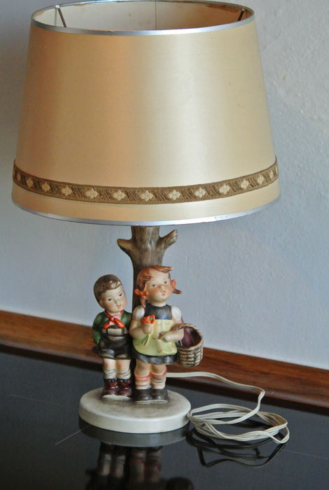 Goebel hummel very rare and old table lamp nr iii101 brderlein goebel hummel very rare and old table lamp nr iii101 brderlein und aloadofball Image collections