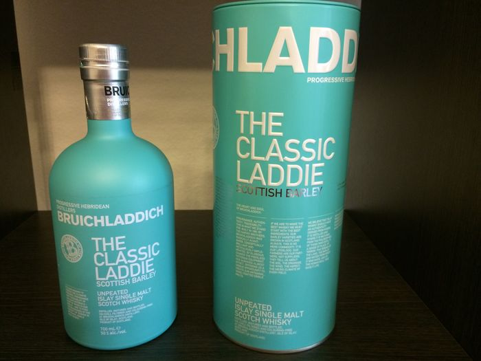 Bruichladdich, the Classic Laddie & Ballantine's Scotch Whisky 17 years old