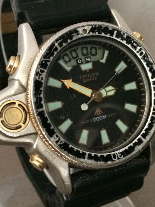 citizen professional vintage divers watch from the. Black Bedroom Furniture Sets. Home Design Ideas